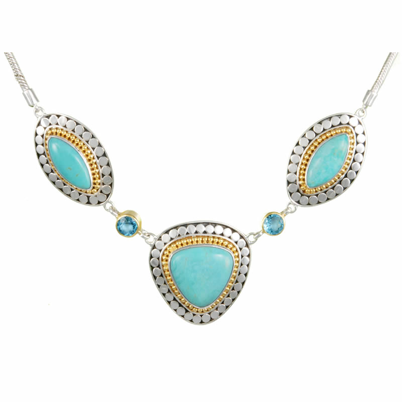 Silver Turquoise Necklaces