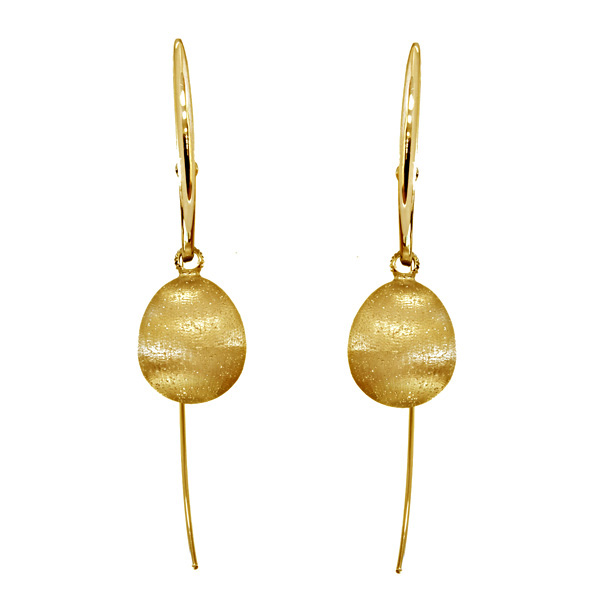 18K Gold Earrings