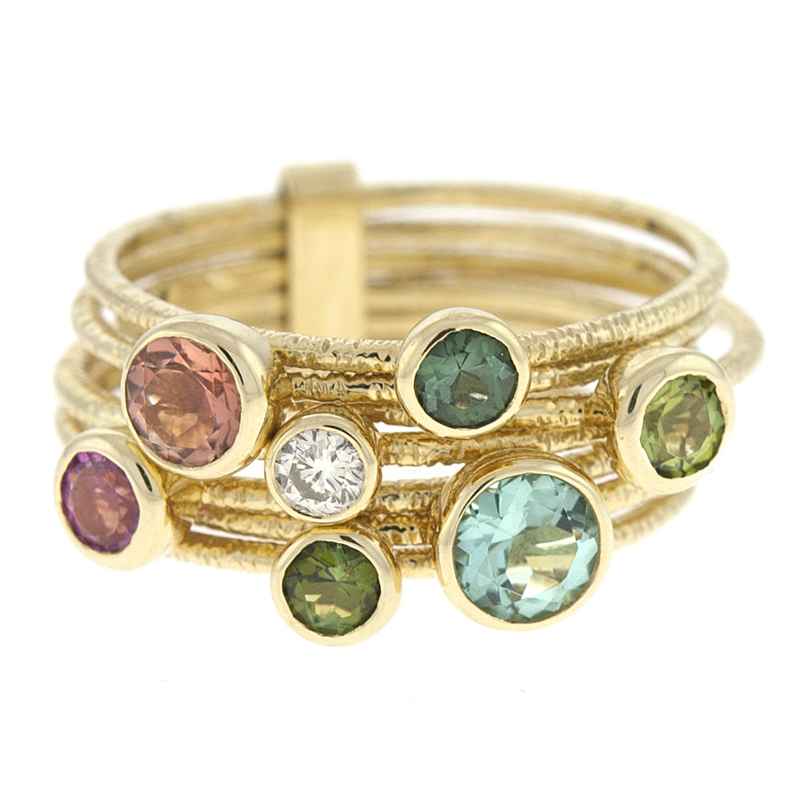 Multi-Color Rings