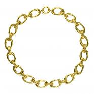 14k Yellow Gold Double Link Necklace